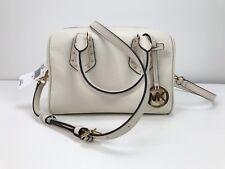 NWT $348 Michael KorsAria Small Leather Satchel  Handbag (Ecru )