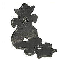 "Nuvo Iron 2"" Ornamental Rafter Clips RC2 (1.5"" x 1.95"") 12pcs - Black"