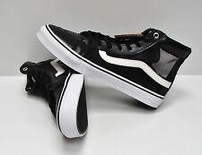 Vans SK8 Hi Slim Cutout Mesh Black White Women s Size 10 1398da109