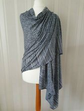Womens Ladies WHITE STUFF Scarf Spot Print Soft Shawl Long Wrap Stole Pashmina