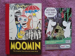 Moomin: The Complete Tove Jansson Comic Strips  HC, plus FCBD issue, D&Q