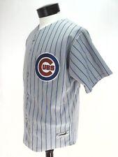Chigago Cubs Hutcherson 44 Men's NBL Baseball Jersey Patches Gray Blue Small USA