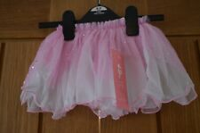 Girls Tutu 2-4 Years Two Layered Sequined Tutu Skirt Made in the UK