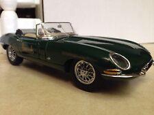 1/24 Franklin Mint British Green 1961 Jaguar Xke Roadster Harrods B11Zg23