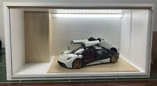 1/18 1:18 SCALE DIORAMA GARAGE DISPLAY ACRYLIC CASE W/ LED LIGHT