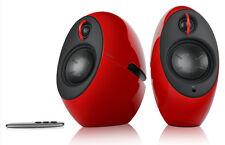 Edifier E25 RED Luna Eclipse 74W Wireless Bluetooth Active TV/MAC/PC BT Speakers
