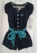 Guess Baby Girl Denim One Piece Shorts New With Tags Size 3T