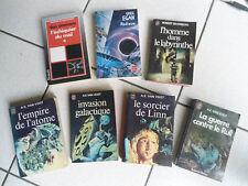 Livres de poche Science Fiction 7 pièces