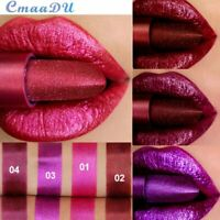 Liquid Lipstick Glitter Metallic Matte Lip Gloss Waterproof Long Lasting Make Up