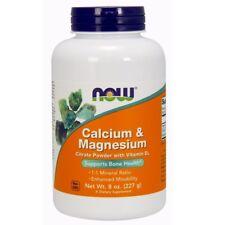 NOW Foods Calcium and Magnesium Citrate Powder - 8 oz