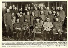 Belgien* Dr. v. Sandt General- Gouvernement deutsche Zivilverw Bilddokument 1915