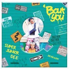 Super Junior D&E-[Bout You] 2nd Mini Album D&E Ver CD+Booklet+PhotoCard+Gift