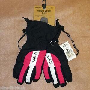 Burton Womens Victory Winter Ski Snowboard Weatherproof Gloves, XS/S/L - NWT!