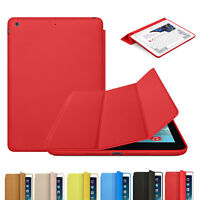 Slim Stand Smart Magnetic Folio Case Leather Back Cover For Apple iPad 5 5th Air