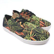Toms Mens Size 10.5 Tropical Rain Forest Multi Color Lace Up Casual Shoes 341215
