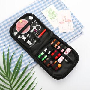 27pcs/set Sewing Box Travel Sewing Kit Needle Thread Tape Scissor StorageQA