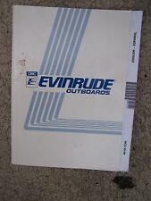 1991 Evinrude 45 / 55 COM Outboard Motor Owner Operator Manual MORE IN STORE S