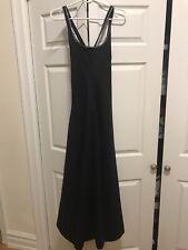 Women's Black Geoffrey Beene Black Gown Size 6