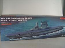 USS Lexington Flugzeugträger (CV-2) - Meng Bausatz 1:700 - 002 #E
