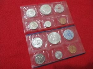 1960 P&D Uncirculated Silver Mint Set   NO Envelope of issue.          #MF-T506