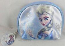 New Disney Soho Frozen Elsa Cosmetic Make-Up Travel Tote Bag Purse