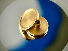 Steampunk Spinners Brass Pudge Button Caps Hand Spinner Fidget 608 Bearing 25 mm