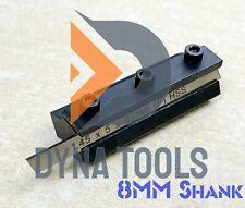 Mini Lathe Cut Off Parting Tool Holder 8mm Shank 1x Hss Blade 145 X 5 X 63mm