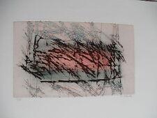 Le Floch abstrakte Farbradierung Auflage 15 handsigniert nummeriert Abstrakt RAR