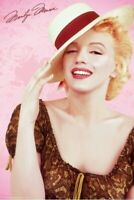 MARILYN MONROE ~ PANAMA HAT 24x36 POSTER Photography Celebrity Icon Movie