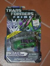 TRANSFORMERS PRIME DARK ENERGON KNOCK OUT DELUXE MOSC MOC MISB SEALED NEW