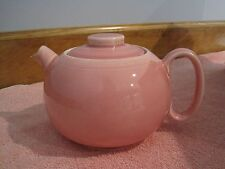 VINTAGE W.S. GEORGE PINK TEAPOT--MADE IN USA