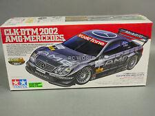 Vintage TAMIYA 1/10 MERCEDES BENZ AMG CLK-DTM 2002 #58296 SEALED