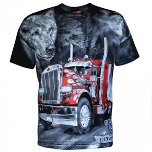 Aquila - LONG HAUL TRUCKER - Mens T-Shirt