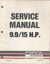 GAMEFISHER 9.9 15hp service manual on cd 260pgs