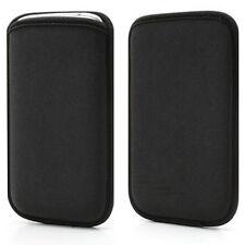 Funda HTC ONE M7 S NEOPRENO NEGRA negro