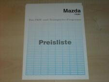 31882) Mazda Xedos 6 9 MX-5 Preise Extras Prospekt 1995