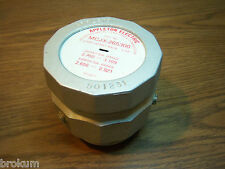 "NEW APPLETON MCJX-265300 CABLE CONNECTOR 3"" NPT JACKETED METAL CLAD"