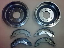 FIAT PUNTO MK2 1.2 BRAND NEW REAR BRAKE DRUM DRUMS X2 & BRAKE SHOES (+ABS) 99-05