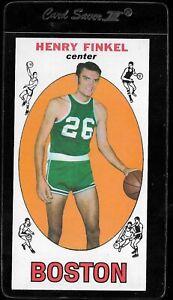 1969-70 TOPPS ROOKIE HENRY FINKEL #34 RC NM