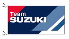 SUZUKI TEAM FLAG - SIZE 150x75cm (5x2.5 ft) - BRAND NEW