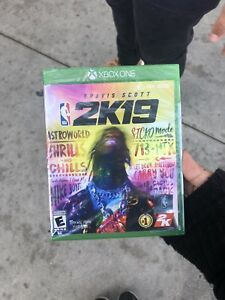 Travis Scott NBA 2k19 Limited Edition Xbox One New Unopened