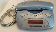 Timex T712L Blue Am/Fm Nature Sounds Alarm Clock Radio Phone
