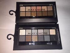 Max & More 12 or 24 Colour Eyeshadow Eye Shadow Palette & Brush Makeup Set