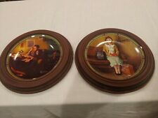 Norman Rockwell A Young Man's And A Young Girl's Dream Collector Plates