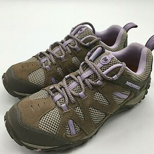 Merrell Womens Brindle Lavender Hiking Trail Shoes Boot Size 7 J343688C