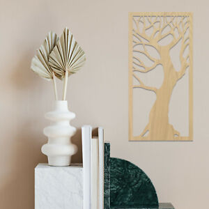 064 Beautiful Tree of Life Frame Wooden Hanging Wall Art Decor MDF Oak Ash