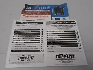 Tripp Lite 93-2459  Owners Manual FROM SMART5000XFMRXL 5kVA 3750W UPS RM 3U