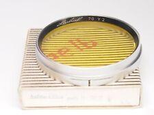 LINHOF Filter Gelb für 70mm Y2