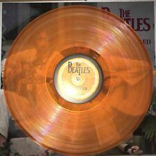 BEATLES, UNPLUGGED, 180 GRAM ORANGE COLORED VINYL LP NEW IMPORT W/ SLEEVE