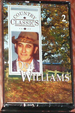 DON WILLIAMS COUNTRY CLASSICS REMINISCING WITH DON CASSETTE 2 RDC92572 NEWSEALED